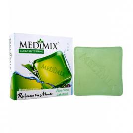 Savon medimix Aloe vera spécial peaux sèches 100g Medimix Cholayil Hygiène Onaturel.fr