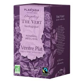 Plant Asia Thé vert Ventre plat 20 sachets 36g Plant Asia Le Coin des Promos Onaturel.fr