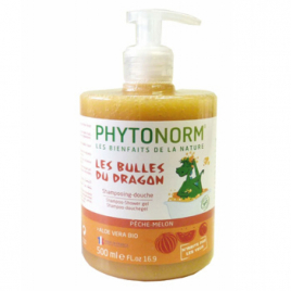 Phytonorm Shampooing douche Les bulles du Dragon Senteur Pêche Melon 500ml Phytonorm Categorie temp Onaturel.fr