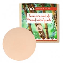 Zao Recharge Terre cuite minérale 346 Bonne mine 15g Zao Make Up Anti-âge / Beauté Onaturel.fr