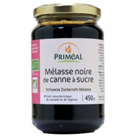 Primeal Melasse noire bio de canne à sucre 450g Primeal Le Coin des Promos Onaturel.fr