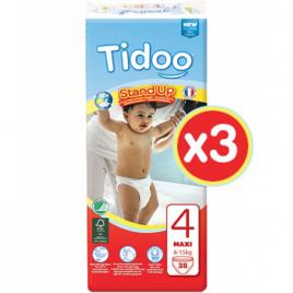 Tidoo Jumbo 3x 38 Culottes d'Apprentissage MAXI (T4)  8/15kg