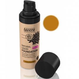 Lavera Fond de teint naturel liquide Amande ambre 05 30ml Lavera Anti-âge / Beauté Onaturel.fr