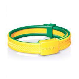 Mousticare Bracelet anti moustique Jaune et vert dès 30 mois 20 g Mousticare