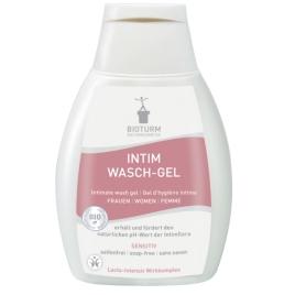 Bioturm Gel d'hygiène intime sans savon extra doux 250ml Bioturm Hygiène féminine bio - serviettes périodiques Onaturel.fr
