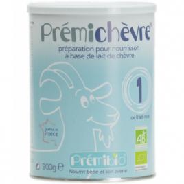Prémibio Prémichèvre 1er âge 0 à 6 mois Sans gluten 900g Prémibio Le Coin des Promos Onaturel.fr
