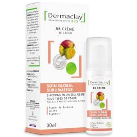 Dermaclay BB crème 5 en 1 Soin global sublimateur peau parfaite 30ml Dermaclay  Crèmes anti-âge Bio Onaturel.fr