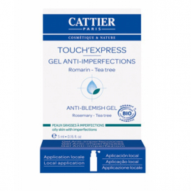 Cattier Touch'Express concentré Actif gel anti imperfections 5ml Cattier Peaux sensibles Onaturel.fr