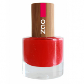 Zao Vernis à ongles Rouge carmin 650 8ml Zao Make Up