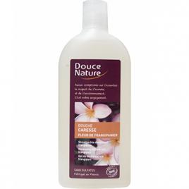 Douce Nature Douche caresse au frangipanier 300ml Douce Nature Gels douche - bains moussants Onaturel.fr