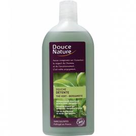 Douce Nature Douche détente au Thé vert et à la Bergamote 300ml Douce Nature Soins hydratants Bio Onaturel.fr