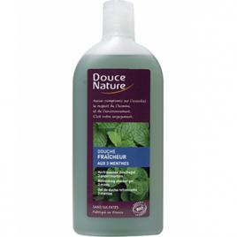 Douce Nature Douche fraicheur aux 3 menthes 300ml Douce Nature Gels douche - bains moussants Onaturel.fr