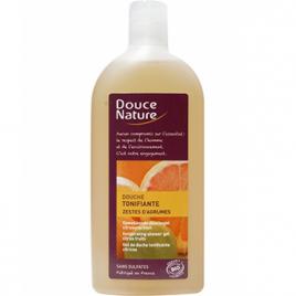 Douce Nature Douche tonifiante aux zestes d'agrumes 300ml Douce Nature Soins hydratants Bio Onaturel.fr
