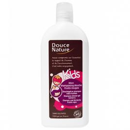 Douce Nature Mon shampooing douche Kids fruits rouges sans sulfates 300ml Douce Nature Shampooings Bio et Soins capillaires O...