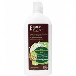 Douce Nature Mon shampooing douche Kids kiwi sans sulfates 300ml Douce Nature Bain / Shampooing Onaturel.fr