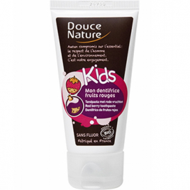 Douce Nature Mon dentifrice Kids fruits rouges 50ml Douce Nature Dentifrices bio Onaturel.fr