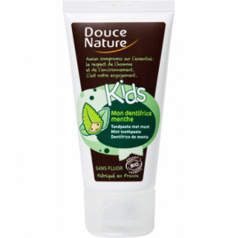 Douce Nature Mon dentifrice Kids menthe 50ml Douce Nature Dentifrices bio Onaturel.fr
