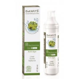Biokarite Perfectissime Soin Anti Age Jour/Nuit Karité Kombu Acide Hyaluronique 50ml  Soins anti-âge Bio Onaturel.fr