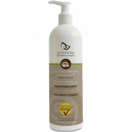 Armonia Lotion corps naturelle à la bave d'escargot 500ml Armonia