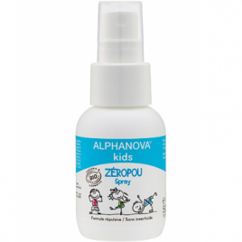 Alphanova Spray Zéropoux anti poux répulsif 50ml Alphanova