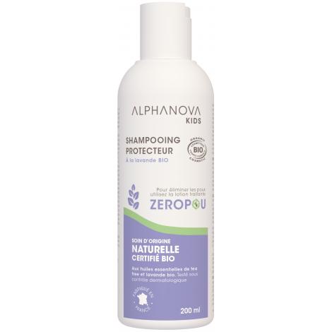 Alphanova Shampoing Zéropoux anti poux répulsif 200ml Alphanova