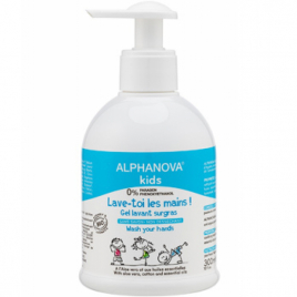 Alphanova Gel lavant 3 en 1 Lave toi les Mains! 300ml Alphanova Bébé, Enfant, Maman Onaturel.fr