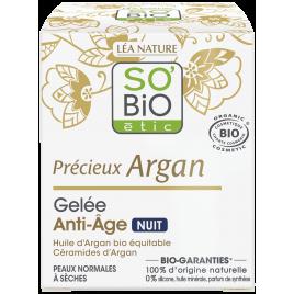 So'Bio étic Gelée de Nuit anti âge à l'Argan 40ml