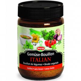 Morga Bouillon de Légumes Saveur Italian 200g - 9 litres de bouillon  Le Coin des Promos Onaturel.fr