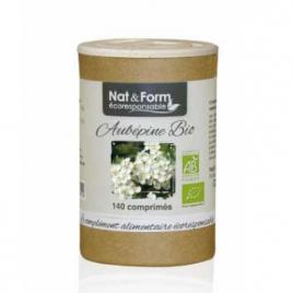 Nat et Form Aubépine 140 comprimés Nat et Form Anti-stress/Sommeil Onaturel.fr