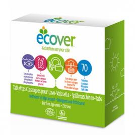 Ecover 70 Tablettes Lave Vaisselle Parfum Agrumes Ecover Produits Lave-vaisselle Bio Onaturel.fr