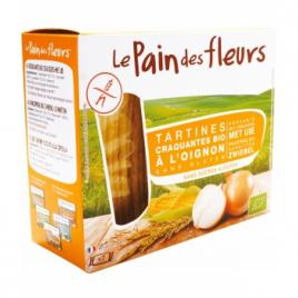 Le Pain Des Fleurs Tartines craquantes à l'Oignon 150g Le Pain Des Fleurs Shampooings Bio et Soins capillaires Onaturel.fr