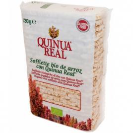 Quinua Real Galettes fines de Riz et Quinoa real 130g  Shampooings Bio et Soins capillaires Onaturel.fr