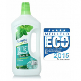Etamine du Lys Nettoyant tout net à la menthe multi usage super économique 200 lavages 1L Etamine du Lys Multi Usages Onature...