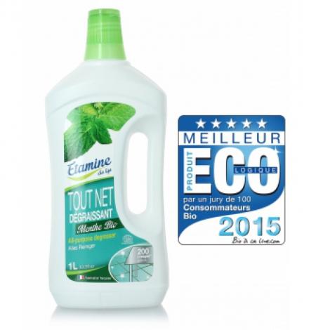 Etamine du Lys Nettoyant tout net à la menthe multi usage super économique 200 lavages 1L