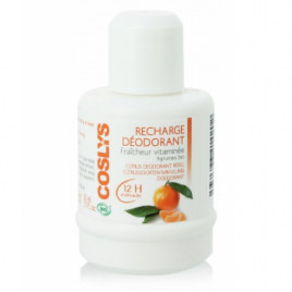 Coslys Recharge du Déodorant Fraîcheur vitaminée Agrumes 50ml Coslys Déodorants Bio Onaturel.fr