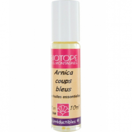 Biotope Des Montagnes Roll on Huile de soin Arnica coups 10ml  Roll-on huiles essentielles Bio Onaturel.fr