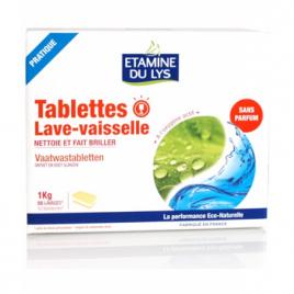 Etamine du Lys 50 Tablettes lave vaisselle 1kg