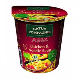 Natur Compagnie Soupe asie de poulet et de nouilles 55g Natur Compagnie