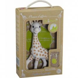 Vulli Sophie la girafe SO PURE avec emballage intégré Vulli Categorie temp Onaturel.fr