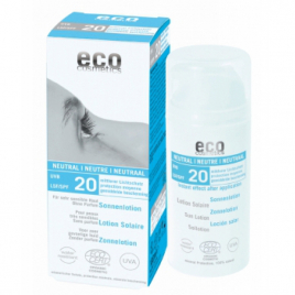 Eco Cosmetics Lotion Solaire SPF 20 Neutre 100ml Eco Cosmetics Protection solaire Bio Onaturel.fr