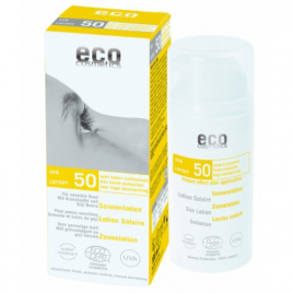 Eco Cosmetics Lotion Solaire indice 50 Grenade et Baies de Goji 100ml Eco Cosmetics Categorie temp Onaturel.fr