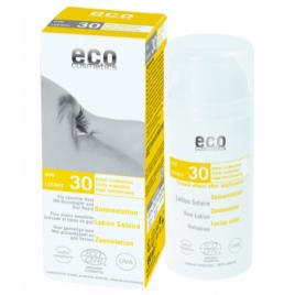 Eco Cosmetics Lotion Solaire indice 30 Grenade et Baies de Goji 100ml Eco Cosmetics Protection solaire Bio Onaturel.fr