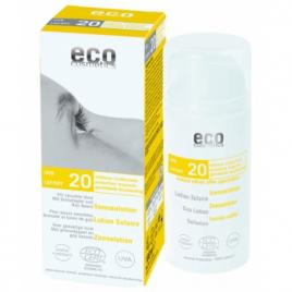 Eco Cosmetics Lotion Solaire indice 20 Grenade et Baies de Goji 100ml Eco Cosmetics Protection solaire Bio Onaturel.fr
