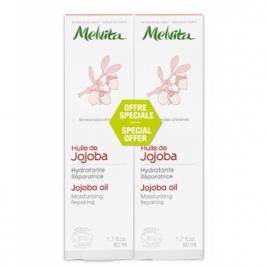 Melvita Duo Huile de Jojoba Hydratante Réparatrice 2X50ml