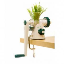 Lexen Extracteur manuel de jus d'herbe Vert Lexen Savons / Gels douches Onaturel.fr