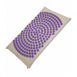 Shantimat Tapis d'acupression Fleur de Vie Violet Shantimat Aromathérapie Bio Onaturel.fr