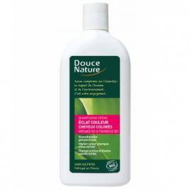 Douce Nature Shampooing Eclat Couleur Grenade Beurre de Karité 300ml