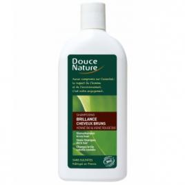 Douce Nature Shampooing Brillance Cheveux bruns 300ml