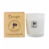 Latitude Nature Bougie votive Violet et Rose 75g