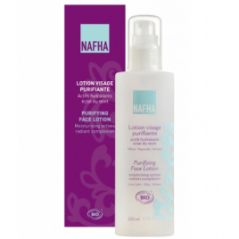 Nafha Lotion visage purifiante éclat du teint 200ml Nafha Categorie temp Onaturel.fr